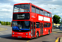 Route 498, Stagecoach London 18476, LX55ERZ, Romford
