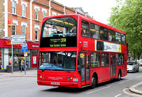 Route 391, London United RATP, VLE20, PG04WJA, Chiswick Lane