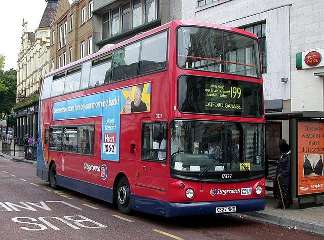 London Bus Routes Route 199 Bellingham Catford Bus