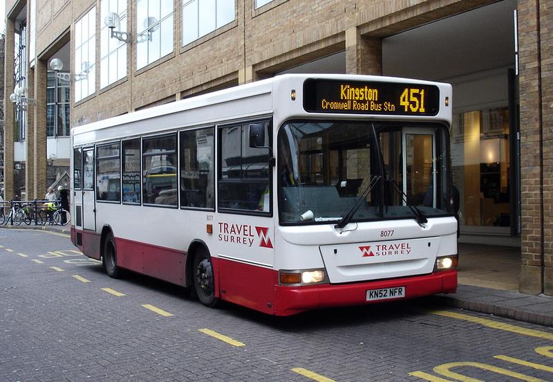 London Bus Routes Route 451 Staines Kingston Non Tfl