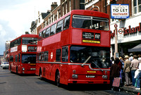 Route 198A, London Transport, MD9, KJD209P, Woolwich