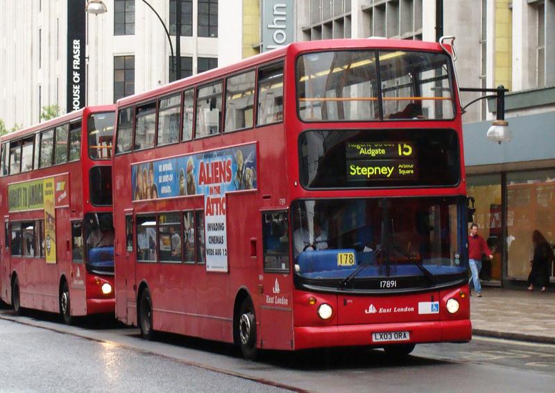 London Bus Routes Route 15 Blackwall Regent Street