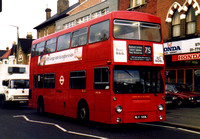 Route 75, London Transport, DMS589, MLK589L, South Norwood