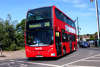 Route 252, First London, DN33544, SN58CFK, Collier Row