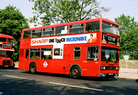 Route 108B, London Transport, T1007, A607THV, Crystal Palace