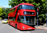 Route 21, Go Ahead London, LT857, LTZ1857, Lewisham