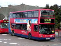 Route 473, Stagecoach London 17096, T696KPU, Stratford