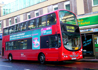Route 180, East Thames Buses, VWL4, LB02YXA, Woolwich