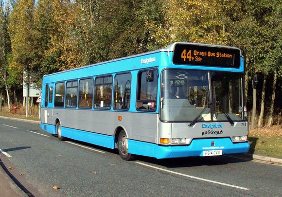 London Bus Routes Ensignbus Route 44 Ensignbus 714