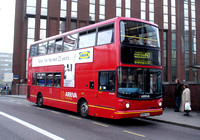 Route 197, Arriva London, DLA184, W384VGJ, East Croydon