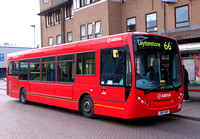 Route 66, Arriva Southend 4071, GN10KWH, Romford