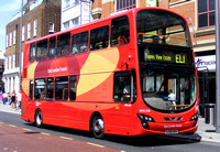 Route EL1, Go Ahead London, WVL338, LX59DDV, Barking