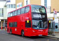 Route 229, Arriva London, T328, LK65ELW, Erith