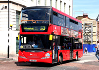Route 53, Selkent ELBG 15062, LX09AEG, Woolwich