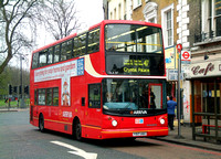 Route 417, Arriva London, DLA317, Y517UGC, Clapham Common
