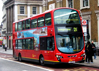Route 21, Go Ahead London, WVL284, LX59CZA, London Bridge