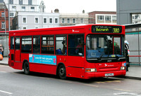 Route 380, Selkent ELBG 34371, LV52HGJ, Woolwich