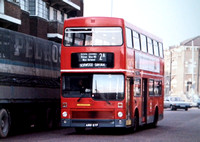 Route 2A, South London Buses, M991, A991SYF, Brixton