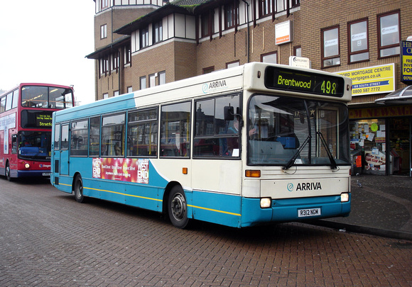 Route 498, Arriva Southend 3402, R312NGM, Romford