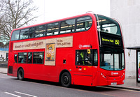 Route 150, Arriva London, T190, LJ60ATO, Barkingside