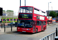 Route 541, Stagecoach London 17488, LX51FMG, Canning Town