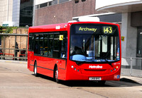 Route 143, Metroline, DE1116, LK10BYC, Brent Cross