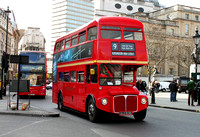 Route 9, First London, RM19313, ALD913B, Trafalgar Square