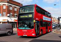 Route 150, Arriva London, T182, LJ60AUL, Barkingside