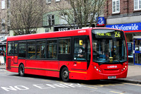 Route 256, Arriva Southend 4007, GN08CHD, Hornchurch