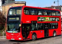 Route 156, Abellio London 9491, LJ09OLB, Wimbledon