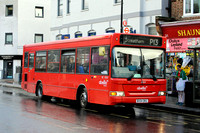 Route P13, Abellio London 8309, BX54DKU, East Dulwich