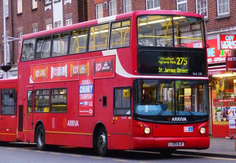 London Bus Routes Route 275 Barkingside St James S