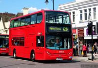 Route 128, Arriva London, T191, LJ60ATU, Romford