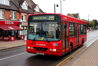 Route 346, Arriva Southend 3512, KE51PUX, Upminster