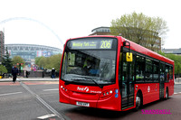 Route 206, First London, DMV44308, YX12AVT, Wembley