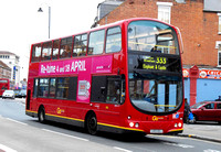 Route 333, Go Ahead London, WVL117, LX03EEJ, Tooting