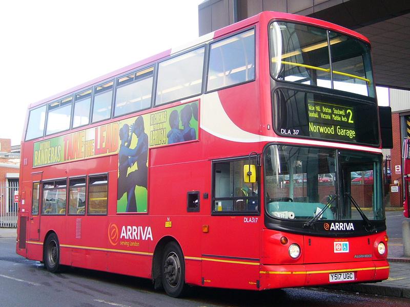 London Bus Routes Route 2 Marylebone West Norwood
