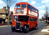 Route 146, London Transport, RT3449, LYR868, Hayes Lane