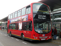Route 541, Go Ahead London, WVL72, LF52ZPB, Canning Town