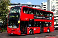 Route 414, Abellio London 2415, SN61DGY, Marble Arch