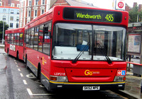Route 485, Go Ahead London, LDP218, SK52MPE, Hammersmith