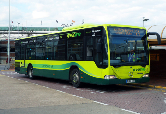 London Bus Routes Greenline Route 724 Greenline 3902