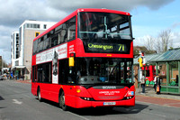 Route 71, London United RATP, SP108, YT59DYY, Kingston