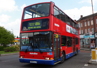 London Bus Routes Route 186 Brent Cross Northwick