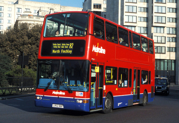 Route 82, Metroline, TPL275, LR02BBF, Marble Arch