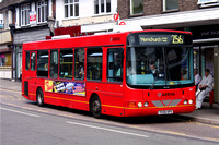 Route 256, Arriva Southend 3971, YE06HPX, Hornchurch