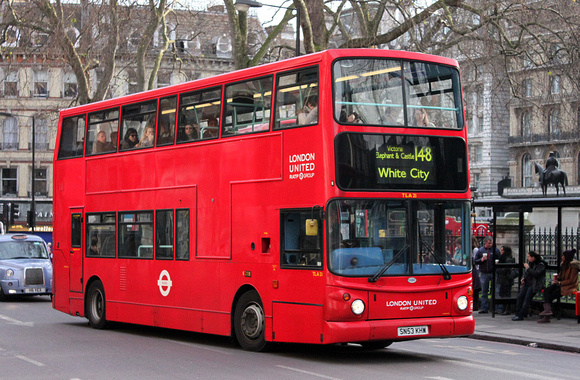 Route 148, London United RATP, TLA21, SN53KHW, Victoria