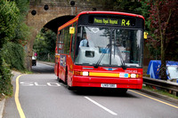 Route R4, First Centrewest, DMS41455, LN51SBO, Tubbenden Lane