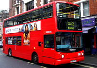 Route 2, Arriva London, DLA316, Y516UGC, Victoria