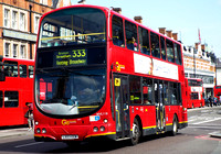Route 333, Go Ahead London, WVL118, LX03EEM, Brixton